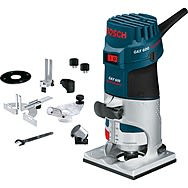 Bosch GKF 600 Palm Router Laminate Trimmer with Accessories