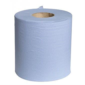 Blue Roll Paper Hand Towel Single