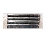 """Wall Vent 9"""" x 3"""" Galvanised - WV93G"""
