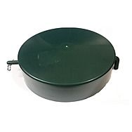 Oil Tank Lid Round With Bar And Clips, 185mm