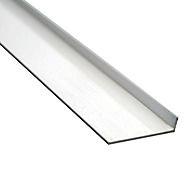 PVC Corner Profile White 1 Metre 40x40mm