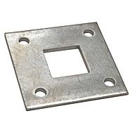 Square Metal Receiver Plate 50mm x 50mm