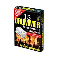 Drummer Compact Fire Lighters Box of 15