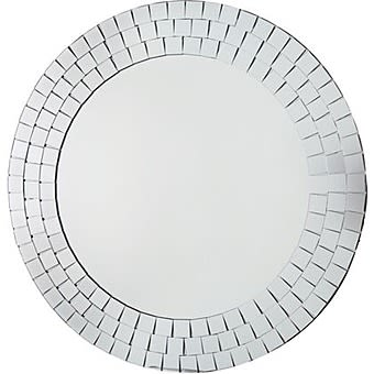 Round Wall Mirror | Neue Elegant Mosaic 50cm