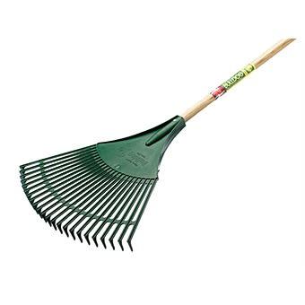 Plastic Fan Leaf Rake by Bulldog 1.63m