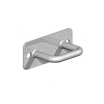 Galvanised Security Anchor Hook
