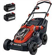 Black & Decker CLM3820L2 Cordless Lawnmower 2 x 36V 2.0Ah Batteries
