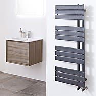 Phoenix RA193 Carla Anthracite Vertical Radiator 1200x500mm