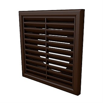 """Picture of Louvre Grille Vent For 5"""" Round Ducting"""
