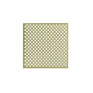 1000 x 670mm Brass Finish Clover Style Radiator Screen