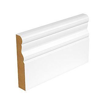 Picture of MDF Moulded Primed White Timber Moulding