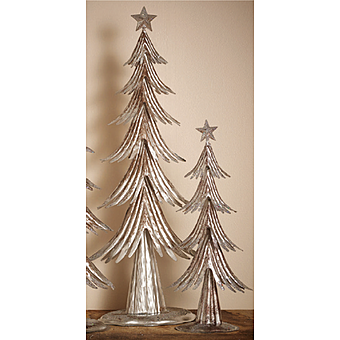 Picture of Gardman Decorative Shimmering Silver Christmas Tree