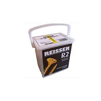 Reisser R2 4.0 x 25mm Tub of 1600 Countersunk Wood Screws
