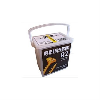 Reisser R2 5.0 x 40mm Tub of 725 Countersunk Wood Screws