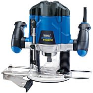 Draper 83612 1200w Storm Force Variable Speed Router Kit