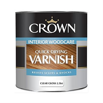 Picture of Crown 1 Litre Quick Drying Varnish