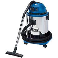 Draper 48499 50L Wet And Dry Vacuum Cleaner