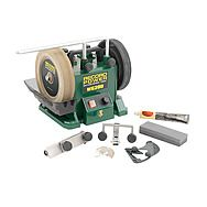"Record Power 33200 WG200 8"" Wet Stone Sharpening System With Accessories"