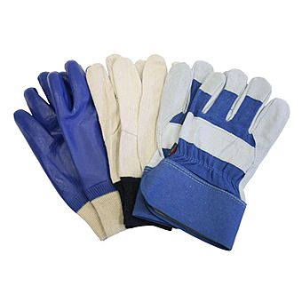 Town and Country Mens Gloves Triple Pack