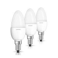 Osram 5.7w LED Candle SES Bulb 3 Pack