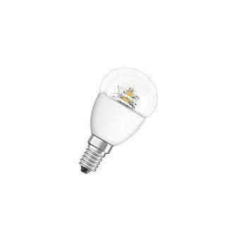 Osram 5.8w Golfball SES Clear LED Bulb