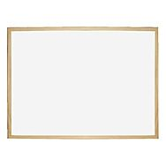 Dry Erase White Board with Wooden Frame 600 x 400mm