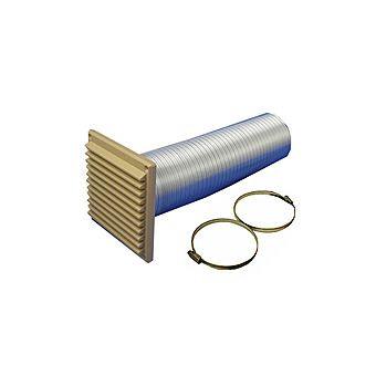 Direct Air Stove Ventilation Kit White Vent
