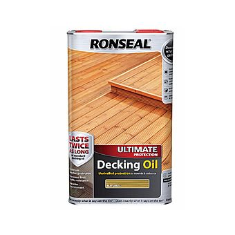 Picture of Ronseal Ultimate Protection Decking Oil 5 Litres