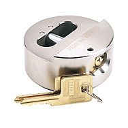 Draper 64525 Expert 73mm Solid Steel Padlock With Concealed Shackle