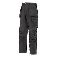 Snickers 3214 0404 Trousers Black Canvas Cordura