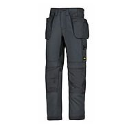 Snickers 6201 5858 Steel Grey Cordura Work Trousers