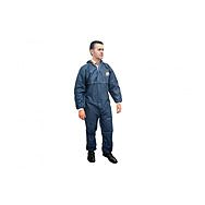 Scan Disposable Overalls Navy Blue M-XL