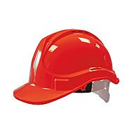 Scan Standard Industrial Safety Helmet Red