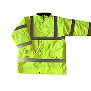 Hi-Vis Motorway Parka Jacket Yellow