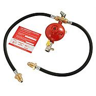 Calor TB1019 Manual Changeover LPG Propane Gas Regulator Kit POL