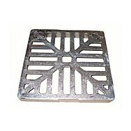Square Alloy Gully Grid 225 x 225mm