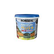 Ronseal Fence Life Plus+ 5 Litre Fence Paint