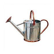 Gardman Metal 9L Watering Can with Copper Trim