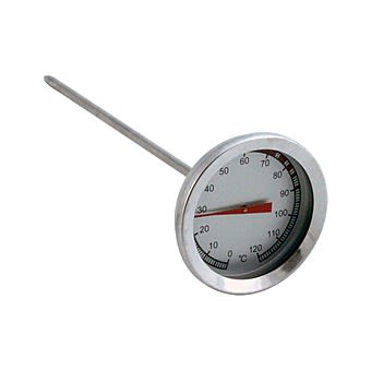 Outback 370179 Stainless Steel Classic BBQ Meat Thermometer