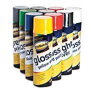 Prosolve All Purpose Acrylic Gloss Paint 500ml Aerosol