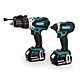 Makita DLX2145TJ 18v Cordless Combi Drill & Impact Driver Twin Pack 2 x 5.0Ah Batteries