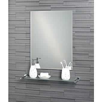 Picture of Showerdrape Fairmont Rectangular Mirror with Bevelled Edge