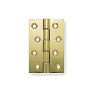 Centurion 101 x 76 x 3.5mm Self Coloured Solid Drawn Butt Hinges DPBW