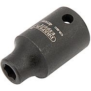 "Draper 406-MM Expert 1/4"" Sq Dr Hi-Torq 6 Point Impact Socket"