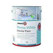 Zinsser Perma White Interior Paint Satin 2.5 Litre
