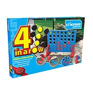 Kingfisher Giant 4-In-A-Row Game GA009