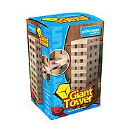 Kingfisher Giant Tower Wooden Blocks Game GA001