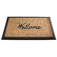 Gardman 82332 Welcome Coir Woven Doormat