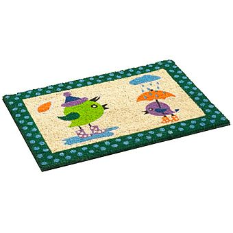 Bruce Starke Vico Birds in the Rain Mat 40 x 60cm