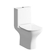 Moods Cedarwood Close Coupled Toilet with Soft Close Seat